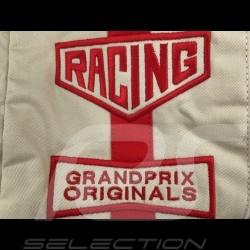 Gulf Reisetasche Steve McQueen Le Mans Beige Baumwolle/ Leder
