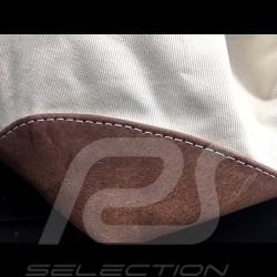 Gulf Travel bag Steve McQueen Le Mans Beige Cotton / leather