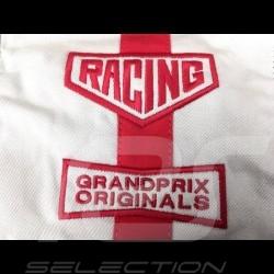 Gulf Reisetasche Steve McQueen Le Mans Medium Beige Baumwolle/ Leder