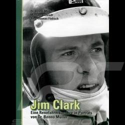 Buch Jim Clark - Eine Rennfahrerkarriere in Porträts von Dr. Benno Müller