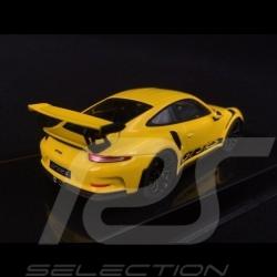 Porsche 911 GT3 RS type 991 2017 jaune racing 1/43 Ixo MOC299 racing yellow racinggelb