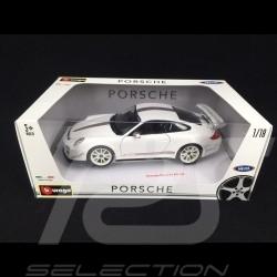Porsche 997 GT3 RS 4.0 white 1/18 Burago 1811036