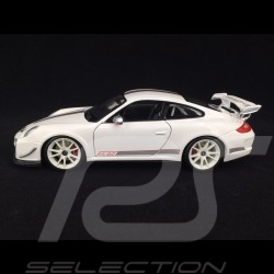 Porsche 911 type 997 GT3 RS 4.0 white 1/18 Burago 1811036