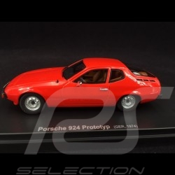 Porsche 924 Prototype 1974 red 1/43 Autocult ATC60040