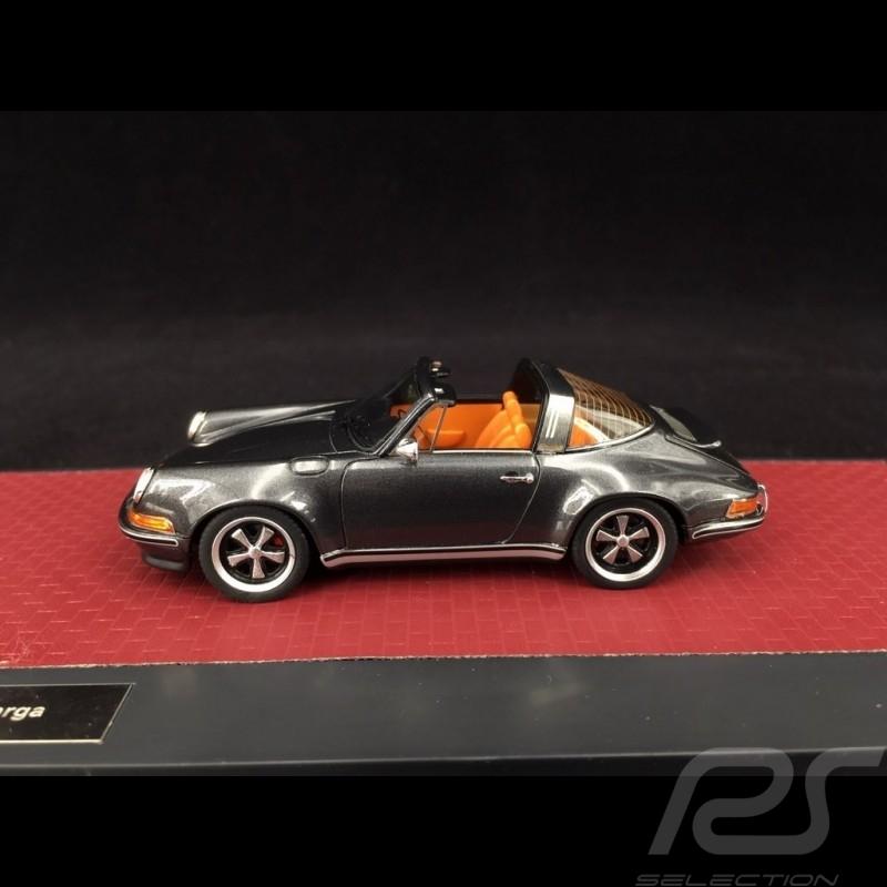 Singer Porsche 911 Targa 2014 grise 1/43 Matrix MX41607-091