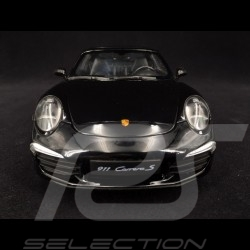 Porsche 911 Carrera S type 991 2012 noire 1/18 Welly 18047BK