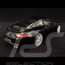 Porsche 911 Carrera S type 991 2012 black 1/18 Welly 18047BK