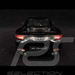 Porsche 911 Carrera S typ 991 2012 schwarz 1/18 Welly 18047BK
