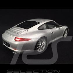 Porsche 911 Carrera S type 991 2012 argent 1/18 Welly 18047S