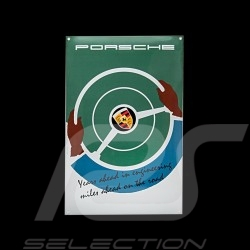 Porsche Emailleschild Years ahead in engineering 40 x 60 cm PCG00099916