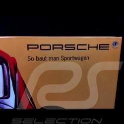 Porsche Enamel plate 911 Carrera 4 type 964 Jubilee 40 x 60 cm PCG00096430