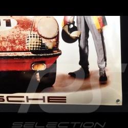 Porsche Enamel plate 911 elegante sportiva 40 x 60 cm PCG00099914