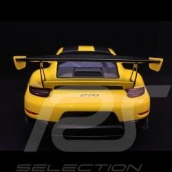 Porsche 911 GT2 RS type 991 Weissach Package yellow / black 1/18 Spark WAP0211520J
