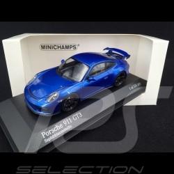 Porsche 911 GT3 type 991 2017 Saphirblau 1/43 Minichamps 413066024