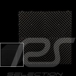 Premium-Garagenplatten Farbe Schwarz RAL9004 Deutsche Herstellung - 20 Jahre Garantie - Satz mit 6 Platten von 40 x 40 cm