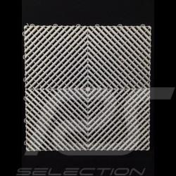 Premium-Garagenplatten Farbe Alu dunkelgrau RAL9007 Deutsche Herstellung - 20 Jahre Garantie - Satz mit 6 Platten von 40 x 40 cm