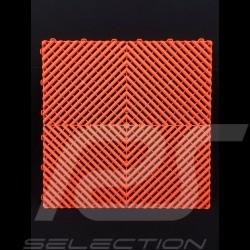 Dalle de garage Premium Orange Pantone021U Fabrication allemande - garantie 20 ans - Lot de 6 dalles de 40 x 40 cm floor tiles G