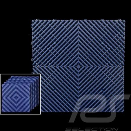 Premium-Garagenplatten Farbe Marineblau Pantone295C Deutsche Herstellung - 20 Jahre Garantie - Satz mit 6 Platten von 40 x 40 cm