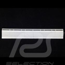 Sloped edging for premium garage slab - Colour Light aluminum grey RAL9006 - set of 4 - with eyelets