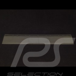 Sloped edging for premium garage slab - Colour Carbon grey RAL7016 - set of 4 - with eyelets
