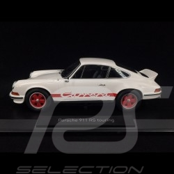 Porsche 911 Carrera RS 2.7 Touring 1973 white / red 1/18 Norev 187639