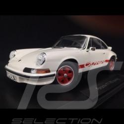 Porsche 911 Carrera RS 2.7 Touring 1973 white / red 1/18 Norev 187639