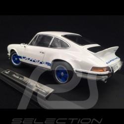 Porsche 911 2.7 Carrera RS 1973 white / blue stripes copy n° 10 / 200 1/18 Norev 187637