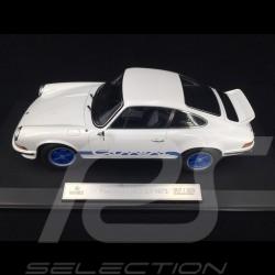 Porsche 911 2.7 Carrera RS 1973 blanche / bandes bleues exemplaire n° 10 / 200 1/18 Norev 187637
