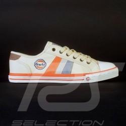 Gulf 50 Jahre Sneaker / Basket Schuhe Creme - Damen