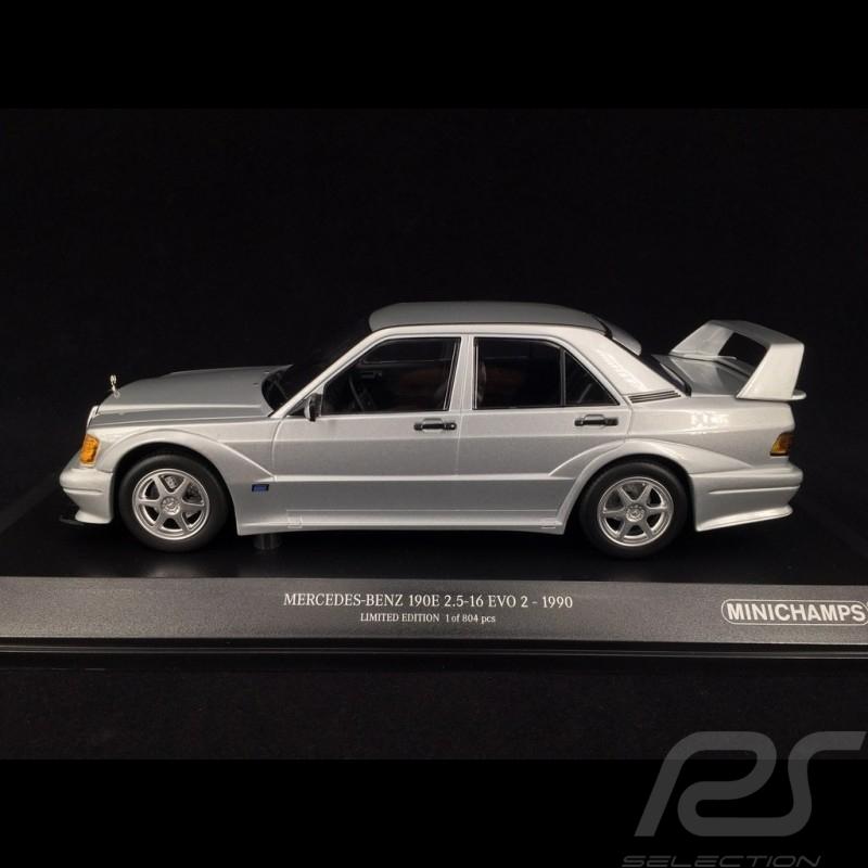 Mercedes 190E 2.5-16 EVO 2 1990 silber 1/18 Minichamps 155036101