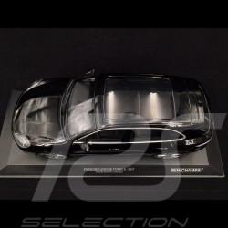 Porsche Cayenne Turbo S 2017 noir 1/18 Minichamps 155066070