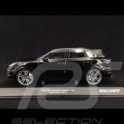 Porsche Cayenne Turbo S 2017 black 1/18 Minichamps 155066070