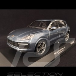 Porsche Cayenne Turbo S 2017 blue 1/18 Minichamps 155066071