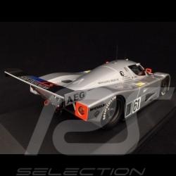 Sauber Mercedes C9 n° 61 2ème Le Mans 1989 1/18 Minichamps 155893561