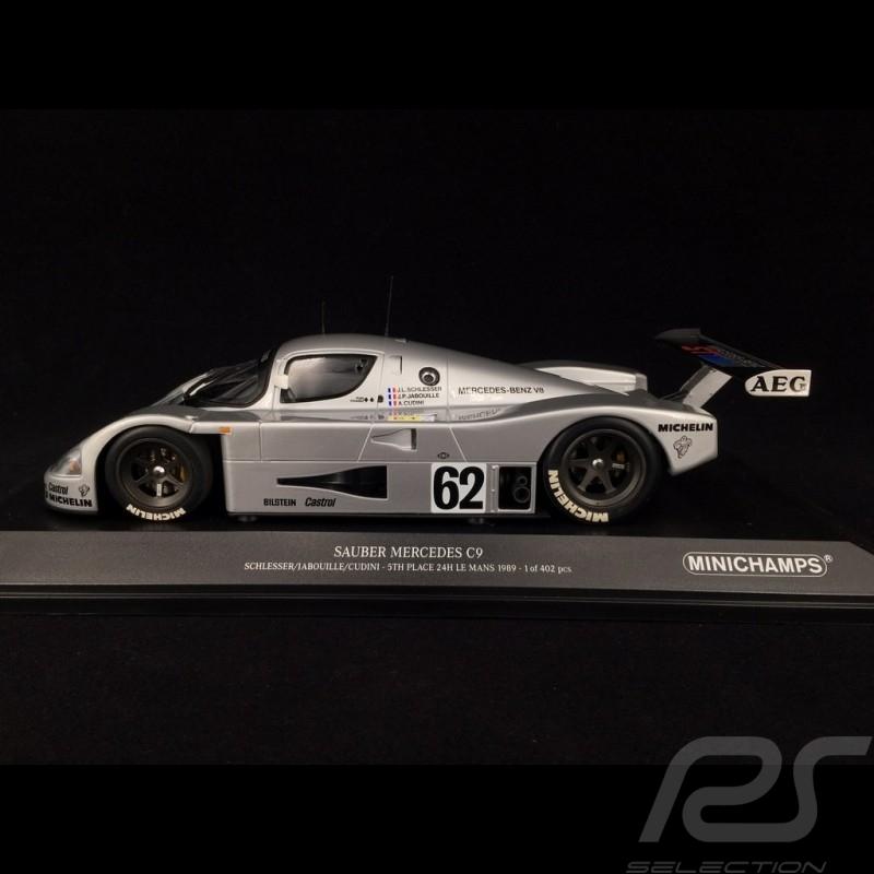 Sauber Mercedes C9 n° 62 Platz 5 Le Mans 1989 1/18 Minichamps 155893562