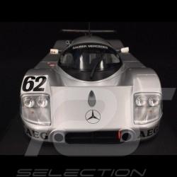 Sauber Mercedes C9 n° 62 5ème Le Mans 1989 1/18 Minichamps 155893562