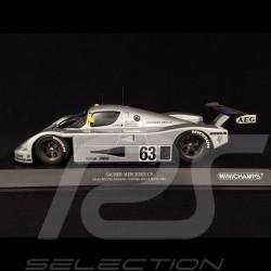 Sauber Mercedes C9 n° 63 Vainqueur Le Mans 1989 1/18 Minichamps 155893563