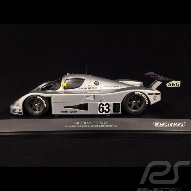 Sauber Mercedes C9 n° 63 Sieger Le Mans 1989 1/18 Minichamps 155893563