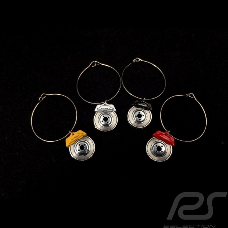 Bremsscheiben Dekoration für Gläser 4er Set Autoart 40332