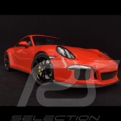 Porsche 911 R type 991 2016 lavaorange 1/12 Minichamps 125066324