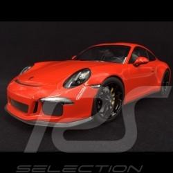 Porsche 911 R type 991 2016 orange fusion 1/12 Minichamps 125066324 lava orange lavaorange