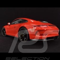 Porsche 911 R type 991 2016 lava orange 1/12 Minichamps 125066324