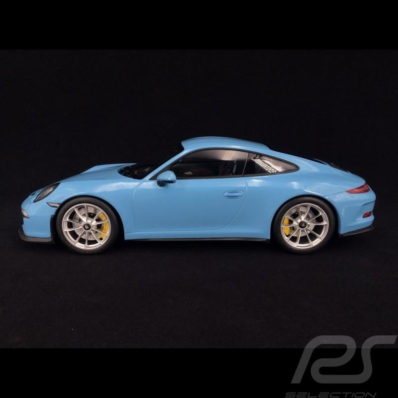 Porsche 911 R type 991 2016 bleu gulf 1/12 Minichamps 125066325 gulf blue gulblau