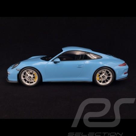 Porsche 911 R type 991 2016 gulf blue 1/12 Minichamps 125066325