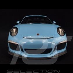 Porsche 911 R type 991 2016 gulf blau 1/12 Minichamps 125066325