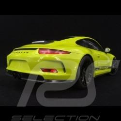 Porsche 911 R type 991 2016 light green 1/12 Minichamps 125066326