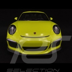 Porsche 911 R type 991 2016 vert lumière 1/12 Minichamps 125066326 light green lindgrün