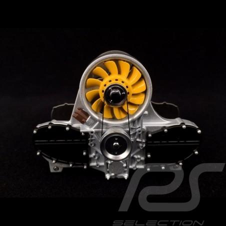 Porte-lettres Moteur Porsche Flat 6 Jaune Autoart 45576