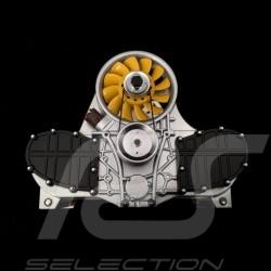 Letter holder Porsche Flat 6 engine Yellow Autoart 45576