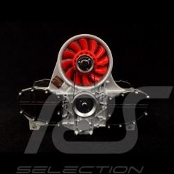Letter holder Porsche Flat 6 engine Red Autoart 45577